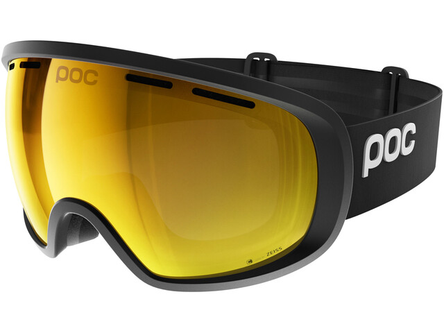 POC Fovea Clarity Goggles uranium black/spektris orange